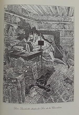 L'ingénieux Hidalgo Don Quichotte de la Manche.: CERVANTES Y SAAVEDRA (Miguel de)