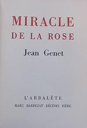Miracle de la rose.: GENET (Jean)