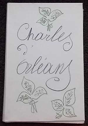 Poèmes de Charles d'Orléans manuscrits et illustrés: MATISSE (Henri) -
