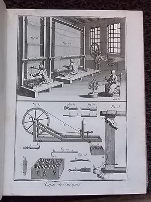 Recueil de planches, pour la nouvelle édition du Dictionnaire raisonné des sciences, ...