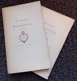 Le Vicaire de Wakefield.: GOLDSMITH (Oliver)