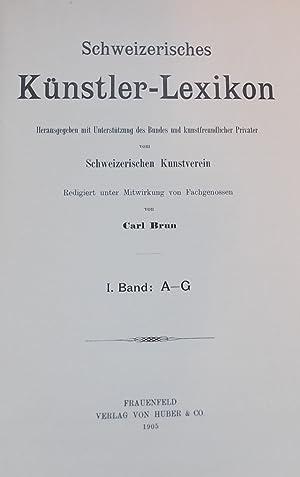 Schweizerisches Künstler-Lexikon. Dictionnaire des artistes suisses.: BRUN (Carl)
