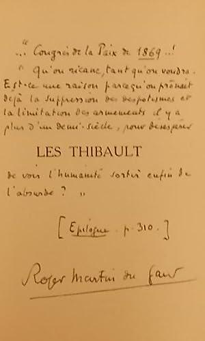 Les Thibault.: MARTIN DU GARD (Roger)