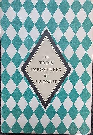 Les trois impostures. Almanach.: TOULET (Paul-Jean)