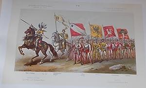 Quatrième centenaire de la bataille de Morat le 22 juin 1876. Album du cortège ...