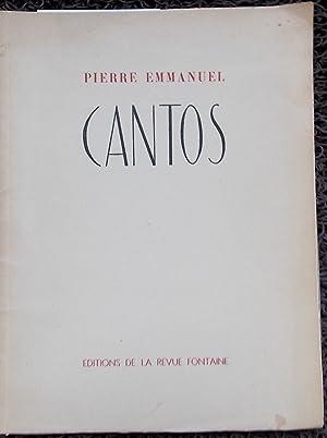 XX Cantos.: EMMANUEL (Pierre)