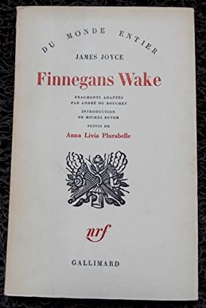 Finnegans Wake. Fragments adaptés par André Du Bouchet. Introduction de Michel Butor....