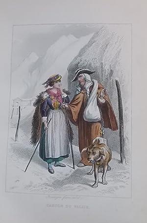 Voyage en Suisse.: MARMIER (Xavier)