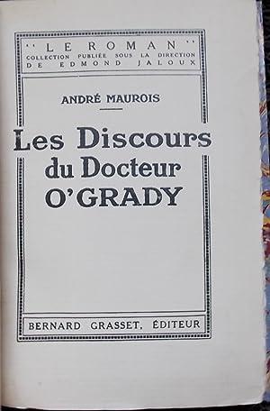 Les discours du docteur O'Grady.: MAUROIS (André)
