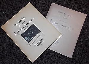 Lettres de jeunesse (1870-1893).: BLOY (Léon)