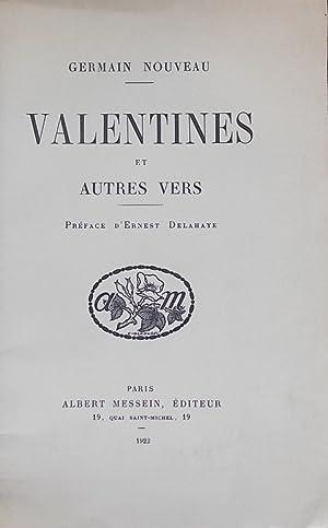Valentines et autres vers.: NOUVEAU (Germain)