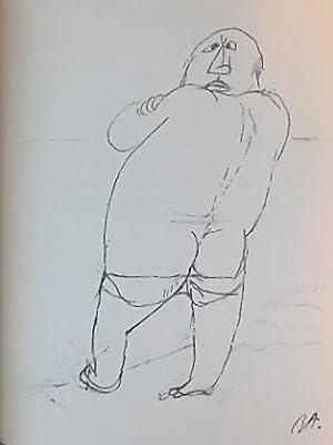 """René Auberjonois, dessins, textes, photographies. Précédé de """"L&#..."""