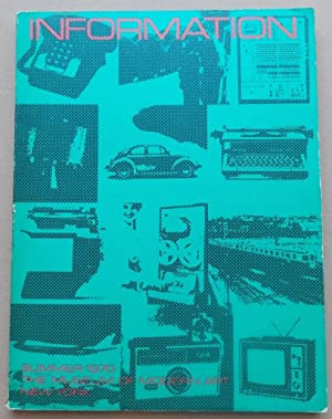 Information (Summer 1970). July 2 - september: McSHINE (Kynaston L.)
