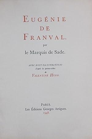 Eugénie de Franval.: SADE (D. A. F., marquis de)