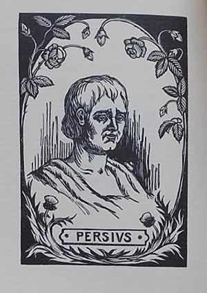 Six satires.: PERSE