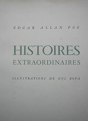Histoires extraordinaires.: BOFA] - POE (Edgar Allan)
