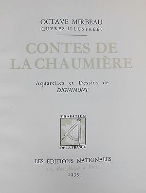 Contes de la chaumière, suivis de Farces et Moralités.: DIGNIMONT] - MIRBEAU (Octave)