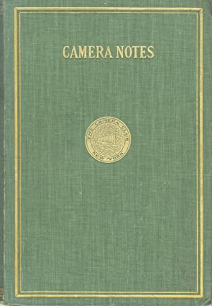 CAMERA NOTES:; OFFICIAL ORGAN OF THE CAMERA CLUB OF NEW YORK