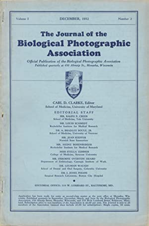 THE JOURNAL OF THE BIOLOGICAL PHOTOGRAPHIC ASSOCIATION