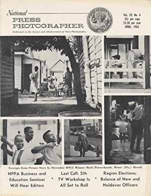 NATIONAL PRESS PHOTOGRAPHER.; OFFICIAL PUBLICATION OF THE NATIONAL PRESS PHOTOGRAPHERS ASSOCIATIO...