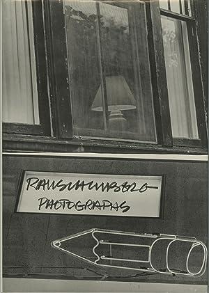 ROBERT RAUSCHENBERG: PHOTOGRAPHS: Rauschenberg, Robert