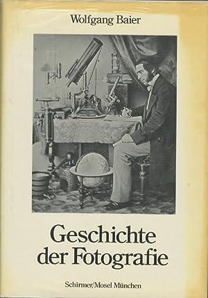 QUELLENDARSTELLUNGEN ZUR GESCHICHTE DER FOTOGRAFIE: Baier, Wolfgang, Dr