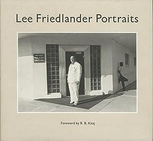 LEE FRIEDLANDER PORTRAITS: FRIEDLANDER]. Kitaj, R.B.,