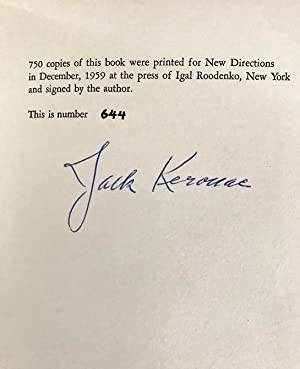Excerpts from Visions of Cody: Kerouac, Jack