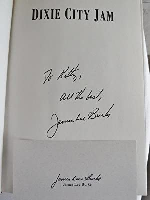 Dixie City Jam, Two Copies. Signed Limited Edition and Signed Trade Edition.: Burke, James Lee