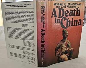 A Death in China: Montalbano, William D and Hiaasen, Carl