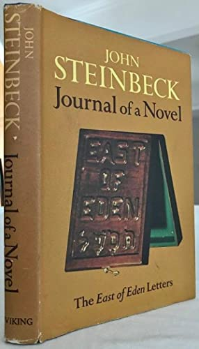 Journal of A Novel: Steinbeck, John