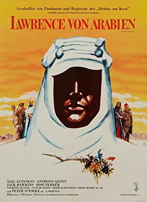 Alec Guiness Lawrence Of Arabia 1963 Film Vintage Movie Poster Print Picture A4