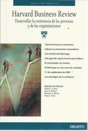 Desarrollar la resistencia de las personas y de las organizaciones - Harvard Business Review