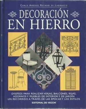 Decoración en hierro. Diseños para realizar verjas, balcones, rejas, adornos y ...