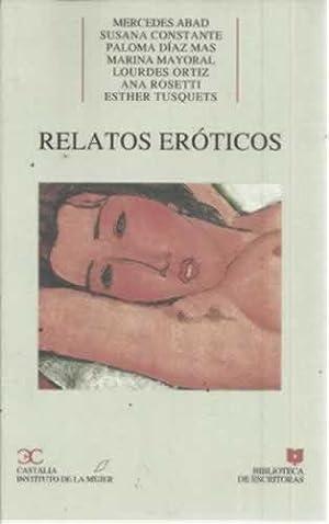 Relatos eròticos: VV. AA.