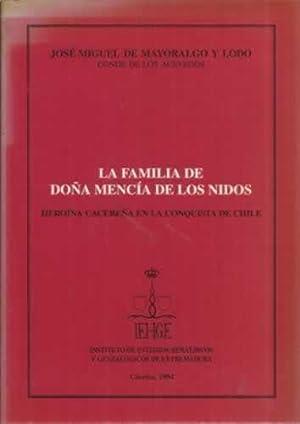 La familia de Doña Mencía de los: De Mayoralgo y