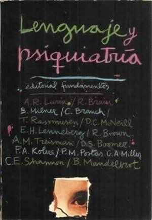 Lenguaje y psiquiatría: VV. AA.