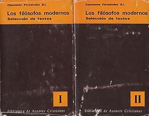 Los filósofos modernos. Selección de textos. 2: Clemente Fernández, S.