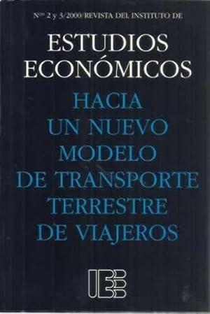 Hacía un nuevo modelo de transporte terrestre: Iranzo, Juan E