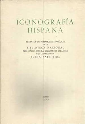Iconografía hispana. Láminas: Páez Ríos, Elena