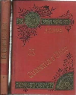Os cuarenta y cinco. 2 tomos: Dumas, Alexandre