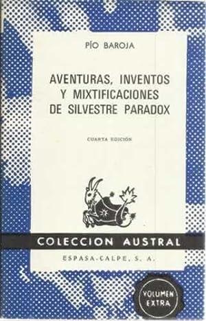 Aventuras, inventos y mixtificaciones de Silvestre Paradox: Baroja, Pío