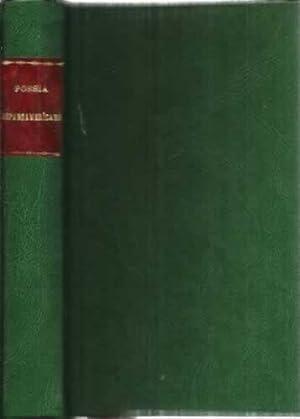 Antología de la poesía hispanoamericana contemporánea 1914-1970: Olivio Jiménez, José
