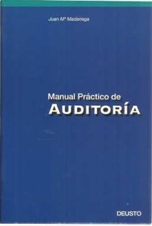 MANUAL PRÁCTICO DE AUDITORÍA: Madariaga Gorocica, Juan