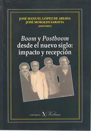 Boom y postboom desde el nuego siglo: López de Abiada,
