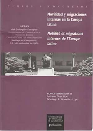 Movilidad y migraciones internas en la Europa: Eiras Roel, Antonio/
