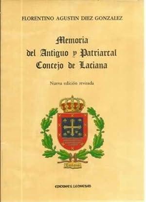 Memoria del Antiguo y Patriarcal Concejo de: Díez González, Florentino