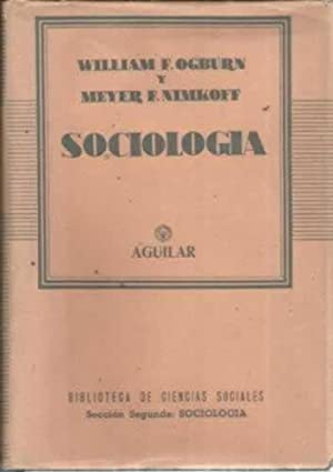 SOCIOLOGÍA: OGBURN. William M.