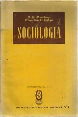 SOCIOLOGÍA: MacIVER, R. M.