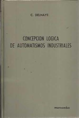 LA CONCEPCIÓN LÓGICA DE AUTOMATISMOS INDUSTRIALES. Relés electromecá...